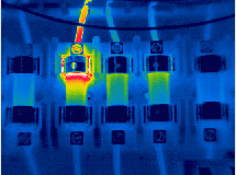 infrared electrical inspection image