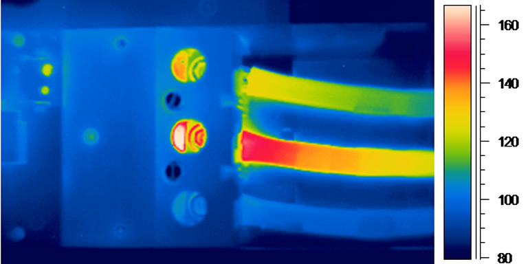 infrared building inspection image